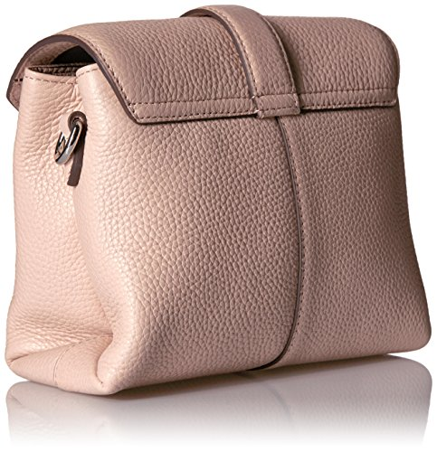Ecco Ecco Isan Small Crossbody - borsa a tracolla Donna, Rot (Rose Dust), 9x15x22 cm (L x H D)