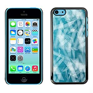PC/Aluminum Funda Carcasa protectora para Apple Iphone 5C Minimalist Pattern / JUSTGO PHONE PROTECTOR