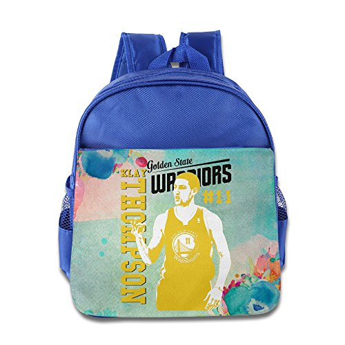 Custom Basketball Player #11 Cute Children Schoolbag For 1-6 Years Old RoyalBlue