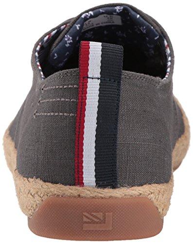 Ben Sherman Heren Nieuwe Prill Oxford Sneaker Grijs