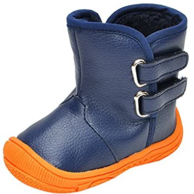 Amazon.com   Infant Baby Boy Girl Snow Boots Rubber Sole
