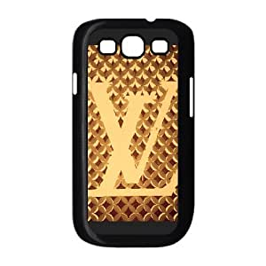Exquisite stylish Louis with Vuitton phone protection shell Samsung Galaxy S3 I9300 Cell phone case for LV Logo pattern personality design