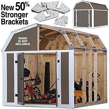 Amazon com : Fast Framer Universal Storage Shed Framing Kit : Garden