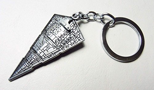 Imperial Star Destroyer alloy keychain