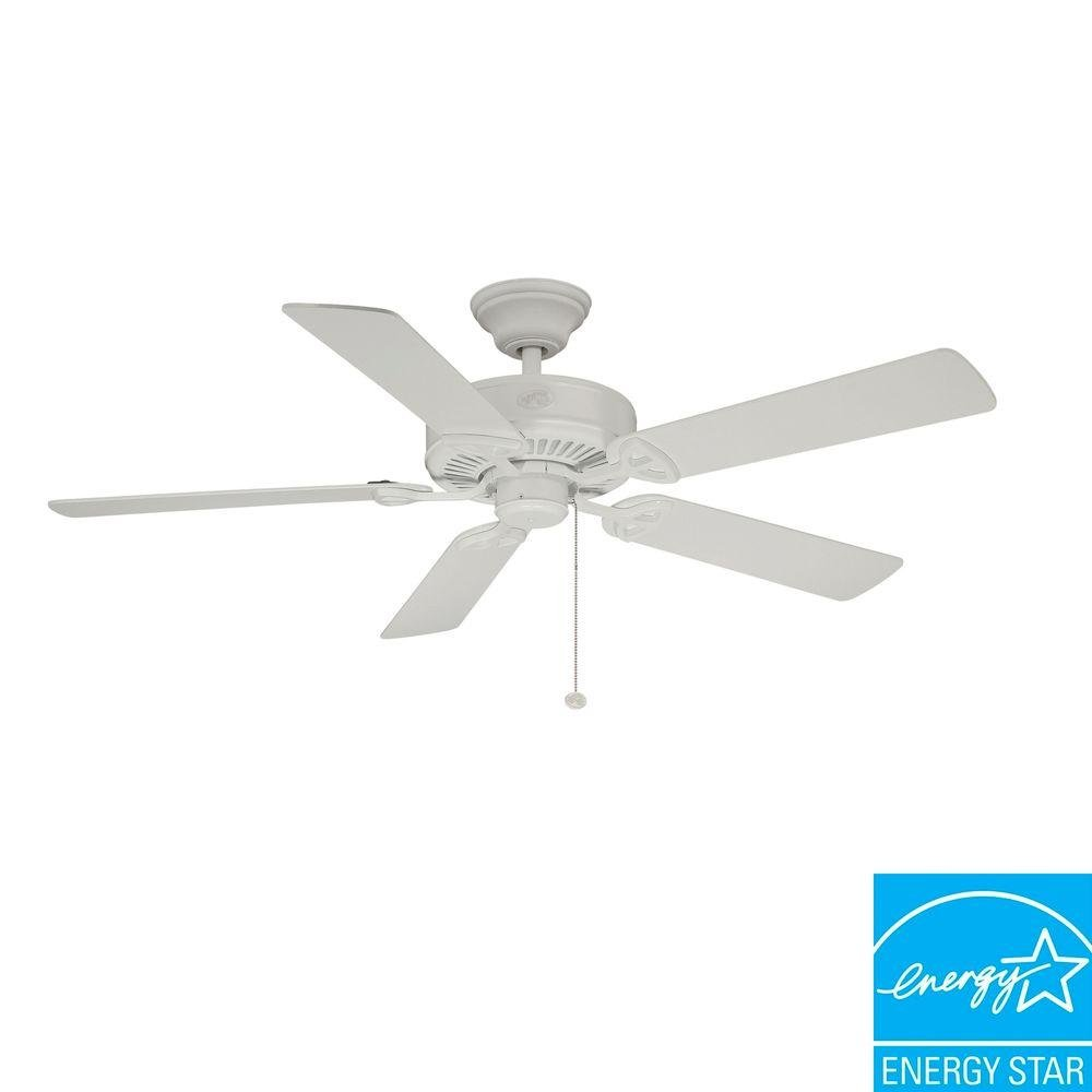 Hampton bay farmington 52 in white ceiling fan amazon aloadofball Choice Image