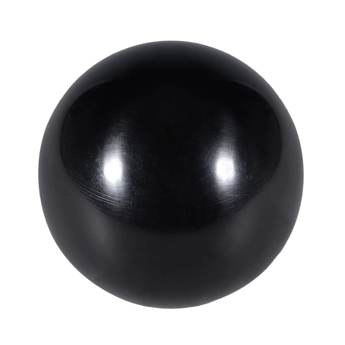 uxcell 15 Pcs Thermoset Ball Knob M10 Female Thread Machine Handle 35mm Diameter Smooth Rim Black