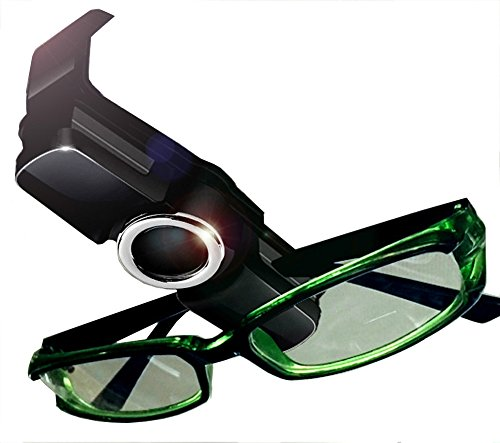 Visor Glasses Clip Car Visor Sunglasses Ticket Clip Holder Double Sunglasses Mount Eyeglasses Clip Cash Money Card Holder for Auto Sun Visor/Air - Sunglasses Wide Too Are