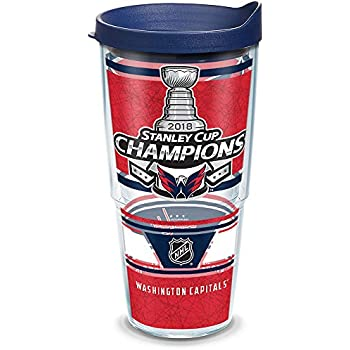 Tervis 1283425 NHL Washington Capitals Ice Stainless Steel Tumbler 20 oz Silver