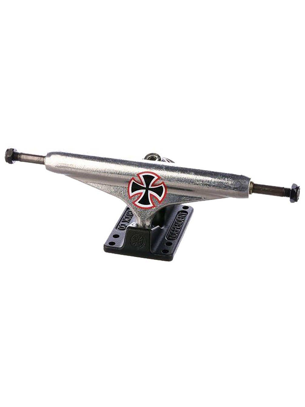 インディペンデントステージ 11 Hollow Wes Kremer Speed 2スケートボードトラック - シルバー/マットブラック - 159mm   B07DQBBCXJ