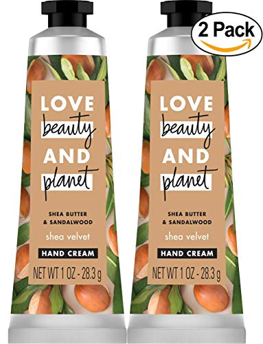 Love Beauty and Planet Shea Butter & Sandalwood Shea Velvet Body Lotion - Shea - 1oz - Pack of 2