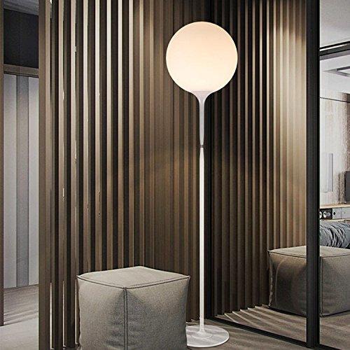 Moderne, einfache Acrylglas, LED-creme Kugelsternhaufen Stehleuchte sollte 42*180cm ,