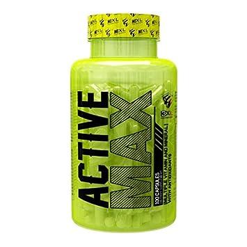 3XL Nutrition - Active Max - 100 cápsulas: Amazon.es: Salud y cuidado personal