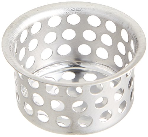 """EZ-FLO 30063 Replacement Strainer 1-1/2"""" Sink with Crumb Cup, Stainless Steel"""