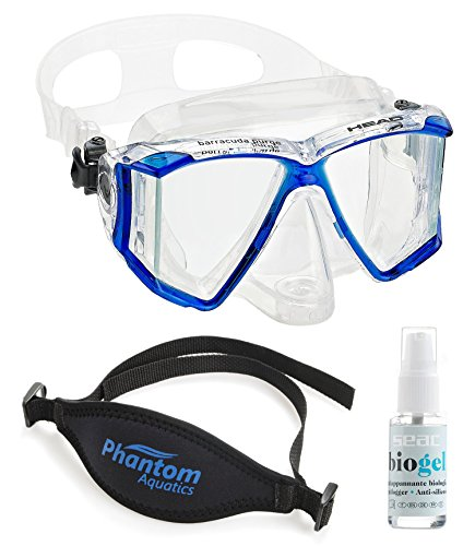 Head by Mares Panoramic Purge Mask with Accessories -