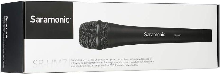 SR-HM7 Saramonic Vocal Handheld Dynamic Cardioid Microphone Professional Video Microphone