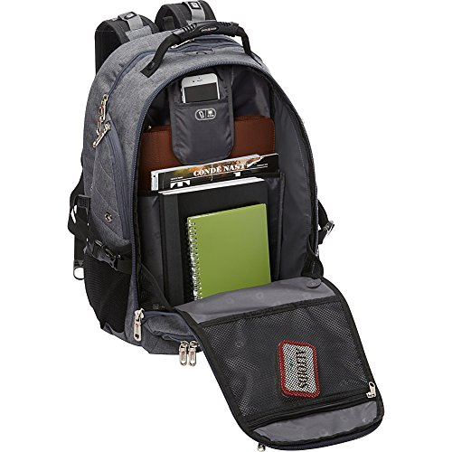SwissGear Travel Gear 5977 Laptop Backpack- (Grey) by Swiss Gear (Image #2)