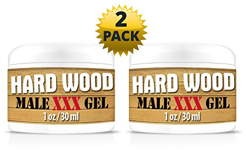 Hard Wood Best LUBE and Male Enlargement Delay Gel. Specially Formulated with L-Arginine to Increase Blood Flow Providing Larger and Prolonged (Male Penile Enlargement)