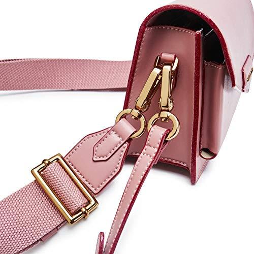 Main Satchel Brun PU Mignonnes Cuir Bag bandoulière Sac Chain Femmes Femmes Sac Sac Brun Dos 20x9x14cm à 8x4x6 à bandoulière Mode à Petite Tgqwf0n