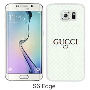 Beautiful And Unique Designed Case For Samsung Galaxy S6 Edge With Gucci 40 White Phone Case