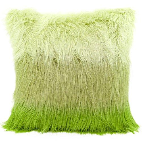 Funda de almohada con diseño de funda de cojín peludos de ...