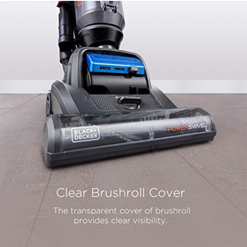 BLACK+DECKER BDPSC103 POWERSWIVEL Bagless Upright Vacuum Cleaner - Complete by BLACK+DECKER (Image #2)