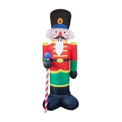 Amazon.com: Mumumi - Muñeco hinchable de Navidad con diseño ...