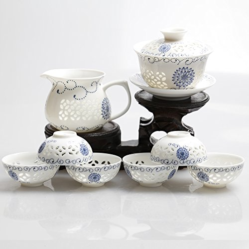 Dehua Porcelain Exquisite Hollow Out Tea (Exquisite Porcelain)