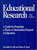 img - for Educational Research a Guide for Preparing a Thesis or Dissertation by Meredith D. Gall (1989-06-03) book / textbook / text book