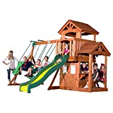 Best backyard discovery cedar swing set - Backyard Discovery Tanglewood All Cedar Wood Playset Swing Review