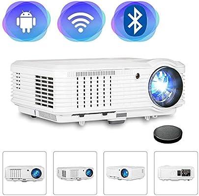 Proyector de video inalámbrico HD 4500 Lumen 200
