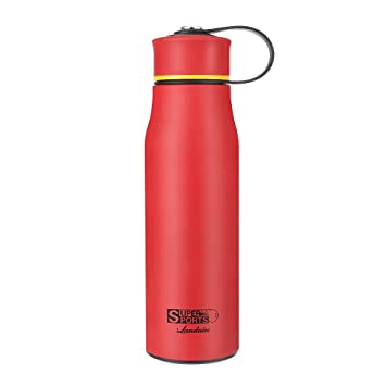 Botella de Acero Inoxidable 520ml,Botella de Agua Portátil de Pared Doble Landnics para 24 Horas de enfriamiento y 12 Horas de Calor BPA para Niños, ...