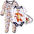 Disney Baby Tigger 3 Pc Set, Multi/Orange, 6/9 Months
