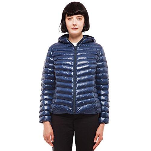 - Rokka&Rolla Women's Ultra Lightweight Hooded Packable Puffer Down Jacket (XXL, Insignia)