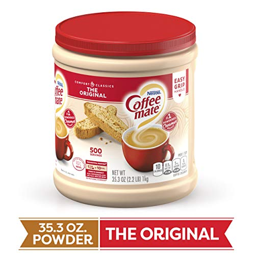 COFFEE MATE The Original Powder Coffee Creamer 35.3 Oz. Canister | Non-dairy, Lactose Free, Gluten Free Creamer