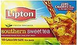 Lipton Southern Sweet Tea, One Gallon Size Tea Bags (36 ct.)