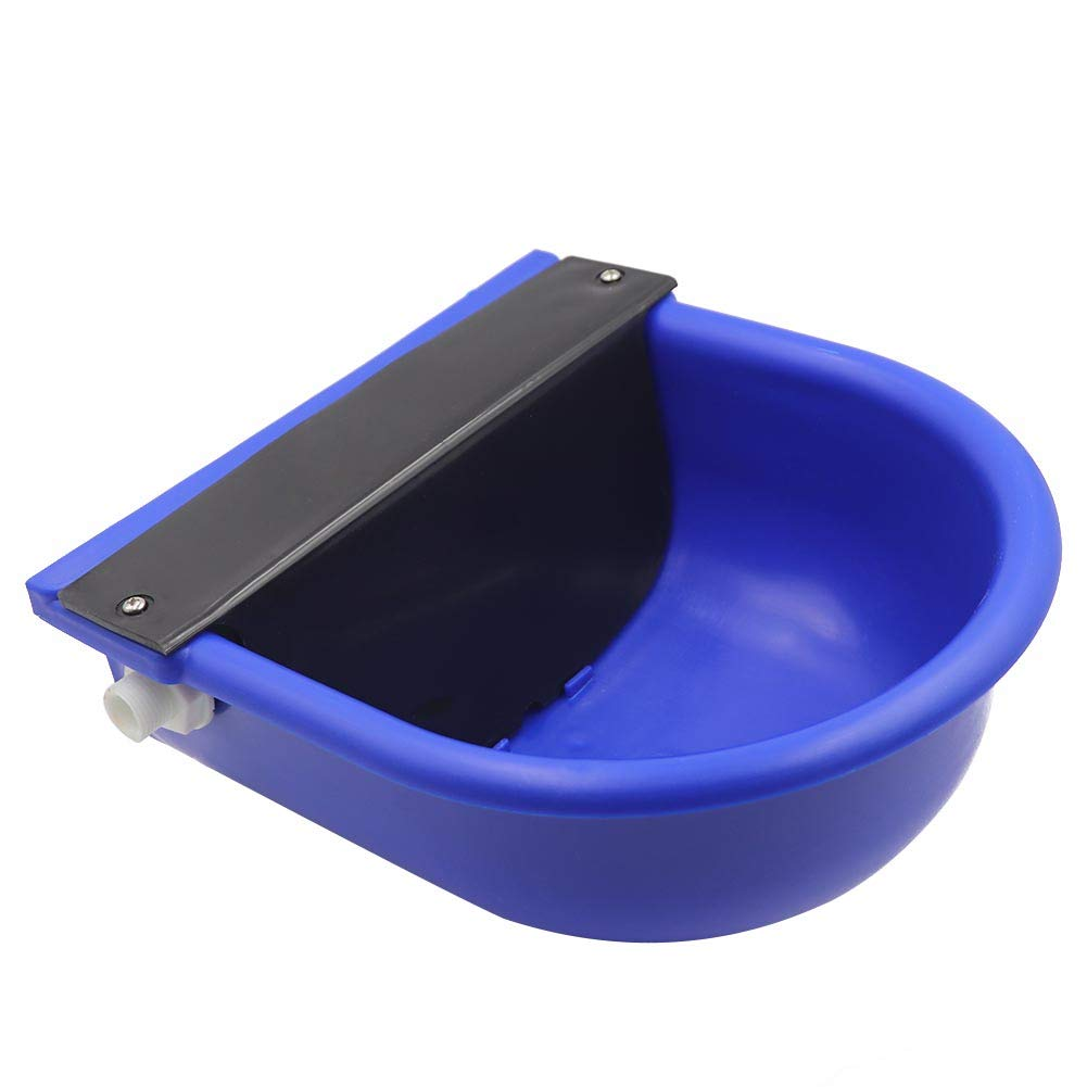 MACGOAL Automatic Waterer Bowl with Float Valve and Drain Plug, Large Dog Bowl for Livestock Horse Cattle Goat Sheep Pig by MACGOAL