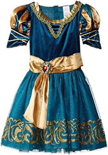 [Disguise Merida Classic Disney Princess Brave Disney/Pixar Costume, Small/4-6X] (Merida Costume Brave)