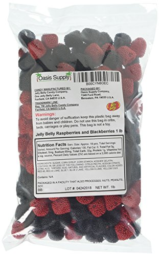 Jelly Belly Raspberries and Blackberries (1 lbs)