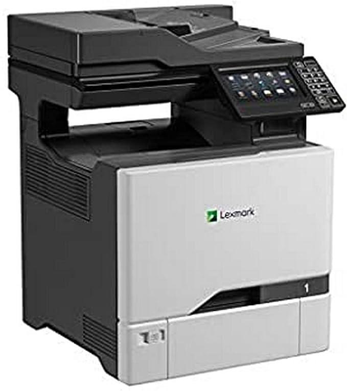 Lexmark Cx727de 4 In 1 Farblaser Multifunktionsgerät Drucker Kopierer Scanner Fax Lan Bis Zu 47 S