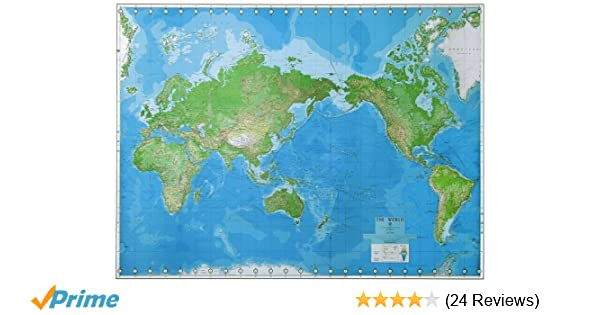World Wall Map: United States Defense Mapping Agency ...