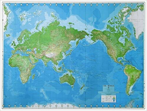 World Wall Map United States Defense Mapping Agency 9780783401041