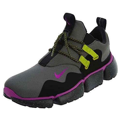Nike Heren Zakmes Dm Loopschoen Rivier Rock / Hyper Violet Zwart