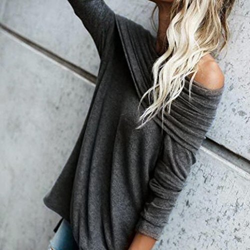 Shirt Shoulder Loose Off 2017 Sexy Strapless Tops Ruched Black Women Blouse Egmy CRZBvq