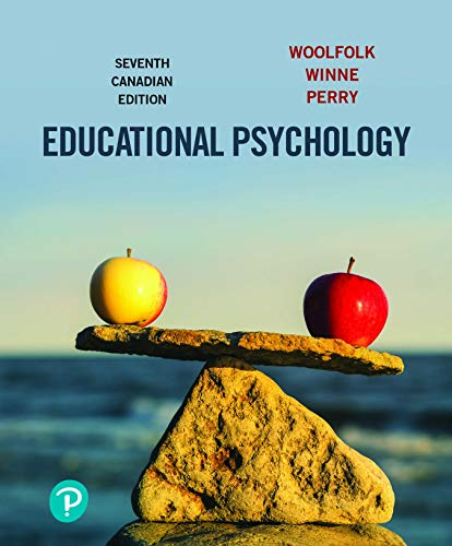 Educational Psychology, Seventh Canadian edition - Original PDF