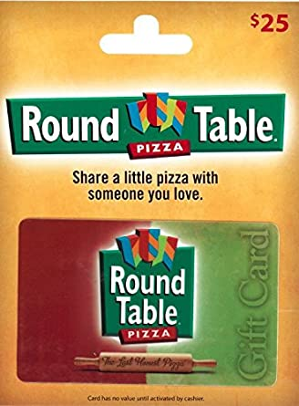 amazon com round table pizza gift card 25 gift cards rh amazon com  round table gift card balance check