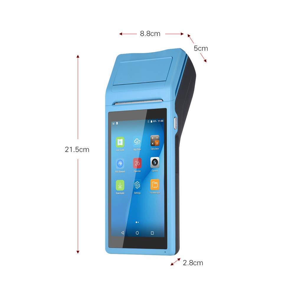 Aibecy Handheld PDA-Drucker Smart POS-Terminal Drahtlose tragbare Thermodrucker Intelligente Zahlung BT//WiFi//USB OTG 3G Communication