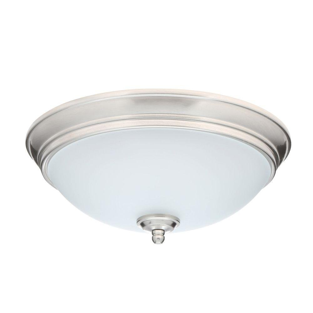 Amazon.com: Níquel cepillado LED Flushmount: Industrial ...