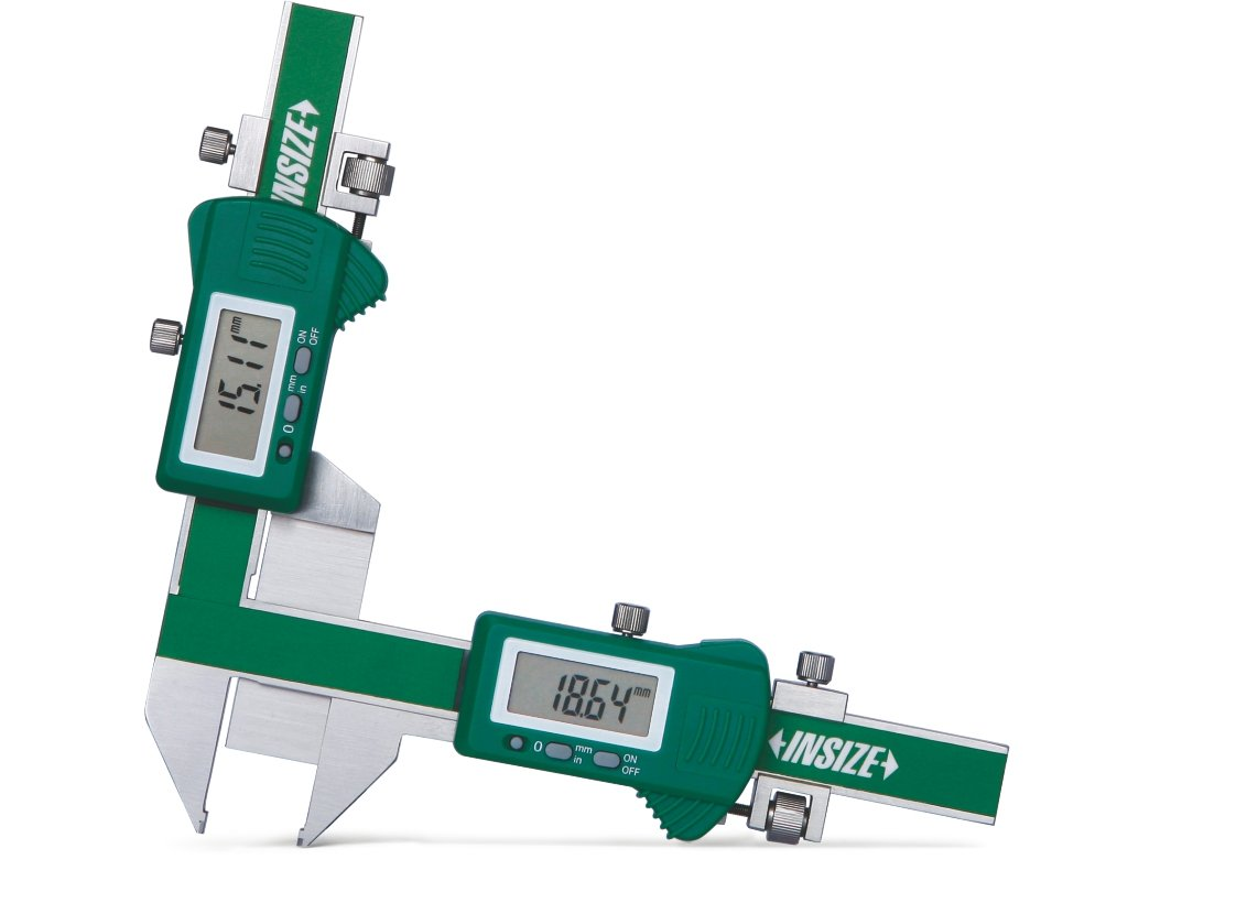 INSIZE 1181-M50A Electronic Gear Tooth Caliper, P1/2-P5