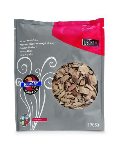 Weber 17053 Hickory Wood Chips, 3-Pound