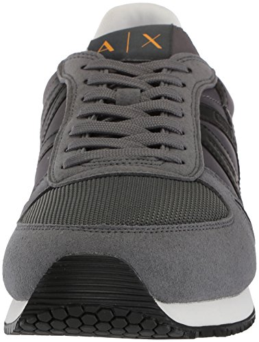 Retro Grey X Fashion A Running Sneaker Armani Men Exchange zIdwq8d
